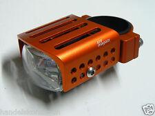 1 Magazi Gabel Nebelscheinwerfer Zusatz-Scheinwerfer orange für 52mm Gabel