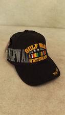 Gulf War Veteran Hat/Cap Embroidered Logo Campaign Ribbon Army Navy Marine Corp
