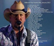 Country Music Promo DVD, Billboard Top Country Hits, January 2013, ONLY on Ebay!