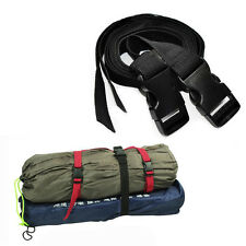 Durable Outdoor Hiking Nylon Strength Backpack Tent Bundled Strap with Buckle