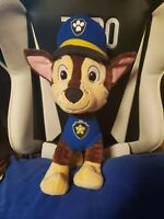 paw patrol chase 16 inch plush authentic ship out fast over 1 foot