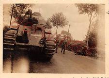 Franz. Panzer Char B1 Kennung bei Saint Quentin Frankreich