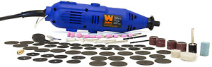 100 Piece Rotary Tool Variable Speed Kit Dremel Grinder Cutter Polishing Shaping