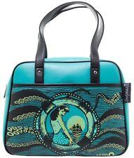Sourpuss Tentacled Bowler Goth Punk Nautical Ocean Purse Bag Handbag SPPU118