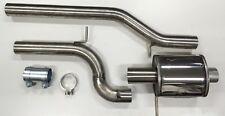 "Auspuff Sportauspuff Abgasanlage AUDI A4 B5 1,8T 1.8T Quattro 76mm 3"" Edelstahl"