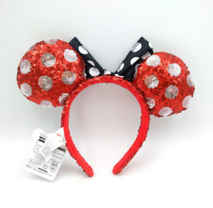 Ariel Mickey Disney Park Limited Gifts Minnie Mouse Ears Bow Cos Belle Headband