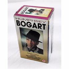 Humphrey Bogart - Sahara Dead Reckoning Harder They Fall - 3 X VHS Video Box Set