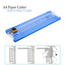 A4 Precision Rotary Guillotine Paper Photo Trimmer Cutter Ruler Craft Tool Light