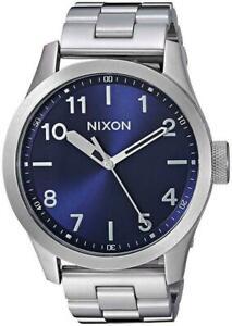 NIB Nixon Safari  Watch Blue Sunray A974 1258