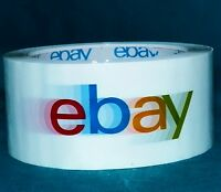 eBay Branded Packaging Shipping Tape BOPP 1 Roll 75 Yards 2 Mil Thickness