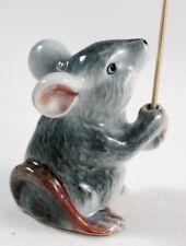 Mouse Rat Incense Holder Animal Handcraft Figurine Stick Tabernacle Spa Aroma