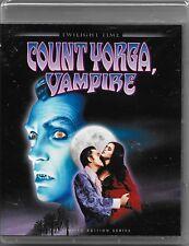 Count Yorga, Vampire Blu Ray Twilight Time [1970]All Regions Free Reg Post