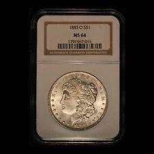1883-O $1 Morgan Silver Dollar NGC MS64 - Free Shipping USA