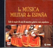 La Musica Militar De España CD 1997