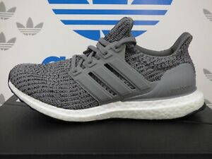 NEW ADIDAS ULTRABOOST 4.0 DNA Men's Running Shoes; Color Grey/White;FY9319