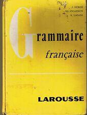 Grammaire Française LAROUSSE DUBOIS * conjugaison Linguistique Français concours