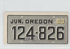 1953 Topps License Plates #54 Oregon Non-Sports Card 0s4