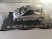 RENAULT Sport Clio V6 1999  1/43 Bon état en boite   J26