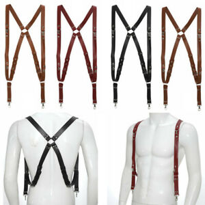 3Pcs Camera Straps for Two-Cameras Dual Shoulder Leather Harness Multi Camera HQ