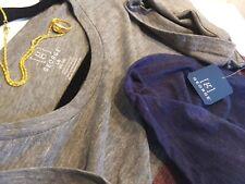 Retro George Mens Large 3 Tone Stripes Stylish Short Sleeve Pocket Tee +FreeGift