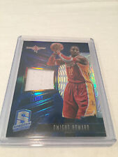 2013/14 Panini Spectra Dwight Howard Houston Rockets jersey card #'d 49
