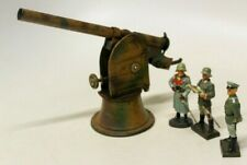 VINTAGE KARL BUB WWII FLAK GUN W/ ELASTONIN/LINEOL 7CM WWII GERMAN OFFICERS