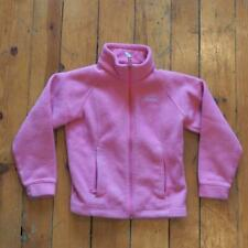 Columbia Youth Pink Fleece Jacket Size 7/8