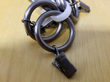 New Restoration Hardware Classic Clip Curtain Drapery Rings (7) Size Small