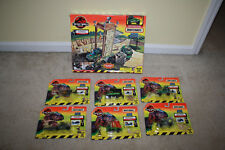 Jurassic Park Lost World Matchbox Action System Garage & MOC Vehicles Lot R614