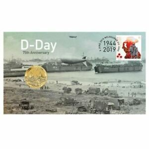 2019 D-Day 75th Anniversary $1 UNC Coin Perth Mint PNC