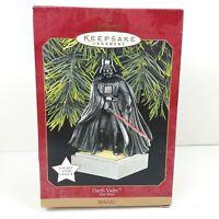 Star Wars Darth Vader Magic Hallmark Keepsake Ornament NIB