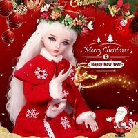 "24"" New 1/3 Handmade Resin BJD MSD Lifelike Doll Joint Dolls Girl Gift Christine"