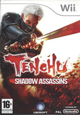 TENCHU SHADOW ASSASSINS for Nintendo Wii - manual in French, Dutch