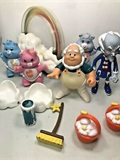 Vintage Care Bears Grams, Baby Bears, Cloud Keeper, Professor Coldheart, Cup Lot