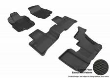 3D MAXpider 07-12 Mercedes Benz GL Class X164 1st 2nd 3rd Row Floor Mat Black