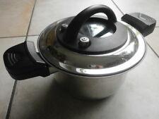 QVC - Edelstahl Dampfgartopf - cook`s essentials TYPE: PC 02 - 20cm / 3,5 Liter