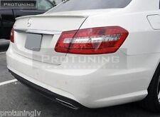 Mercedes Benz Classe E W212 Becquet AMG Coffre Arrière Heck Lip Wing MB Boot Cover