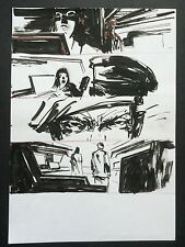 Metal Gear Solid Original Comic Art Ashley Wood Published 3a ThreeA Threezero