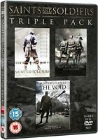 Saints and Soldiers Triple Pack [DVD] New Sealed