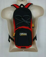 Camelbak Lobo 70 oz 2L Black/Red Hydration Backpack ~ NO BLADDER