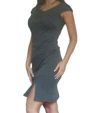 Vestiti da donna asimmetrici lunghezza lunghezza al ginocchio business