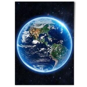 A1 - Planet Earth Globe Space NASA Poster 59.4x84.1cm180gsm Print #14522
