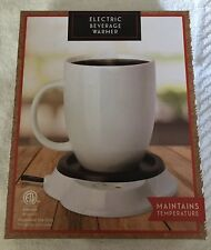 Electric Coffee Warmer Keeps beverage warm Cocoa Tea - Intertek Nwt Ltd Edition