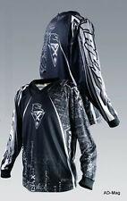 Vêtement vélo VTT - Maillot Jersey TRICK X Classix - Noir et Blanc - T. M - NEUF