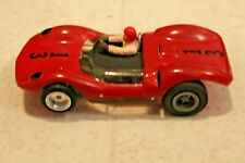 1/32 VINTAGE Red 13 SLOT CAR Unknown Maker