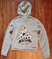 Pinko Lola bunny hoodie sweatshirt size M
