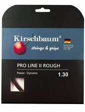 Kirschbaum Set Pro Line II Rough Tennis String, 1.30mm/16Gauge, Black