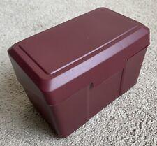 New Listingindex Card Holder 4x 6 Newell Office Burgundy