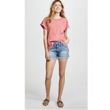 PAIGE Daryn Destructed Cutoff Denim Shorts  (Size 31)