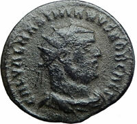 GALERIUS as Caesar Authentic Ancient 295AD Roman Coin JUPITER VICTORY i80002